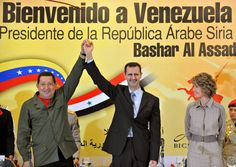 bashar al assad and hugo chavez - Google Search