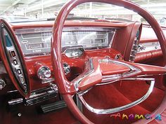 1962 Chrysler Imperial dash..Take note the push button auto transmission on the dash board....Re-pin brought to you by agents at #HouseofInsurance #Eugene, Oregon for #carinsurance.