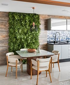 The most common way to decorate an empty wall space is with a painting, but there are other ways that are far more interesting! Tackle that blank wall in your home with one of these unique ideas. Outdoor Furniture Sets, Decor, Outdoor Decor, House Design, Wall Decor, Home, Vertical Garden Indoor, Interior Design, Indoor Plant Wall