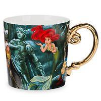 Disney Store Ariel Coffee Mug The Little Mermaid Designer Collection New