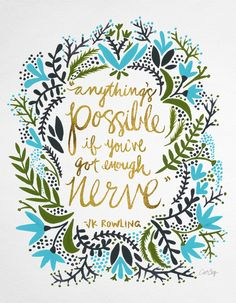 Anything's Possible Art Print