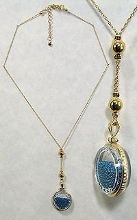 liked Cameron Diaz's necklace so much in The Holiday that I found this site that sells similar ones and bought some