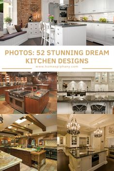 11 Dream Kitchen Upgrades That Will Totally Change Your Life Home Design, Home Layout Design, Luxury Kitchen Design, Best Kitchen Designs, Design Ideas, Interior Design, Kitchen On A Budget, Home Decor Kitchen, Kitchen Ideas