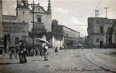 Templo De San Juan De Dios Y La Plaza De Los Mariachis