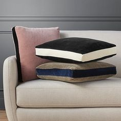 love the shape of these pillows