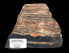 The oldest known rock on Planet Earth | Geology IN