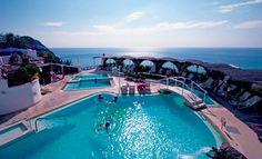 piscina parco termale Tropical di Sant'Angelo - #ischia #terme