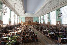 #Rusia #Bibliotecas Biblioteca del Estado Ruso  Es la biblioteca más grande del país, y remonta sus orígenes hasta julio de 1862, cuando se inauguró como primer...