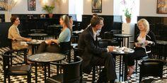 Café Fledermaus | www.neuegalerie.org - Best cafe (good chocolate!) in NYC and it's in the Neue galerie (gustav Klimt)