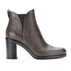 mytheresa.com - Irina leather ankle boots - Luxury Fashion for Women / Designer clothing, shoes, bags