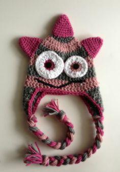 Crochet Little Monster Hat