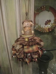 Scarecrow tassel
