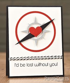 Lost Without You Card by @Karolyn Shepherd Shepherd Shepherd Loncon