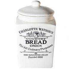 Terracotta Bread Crock
