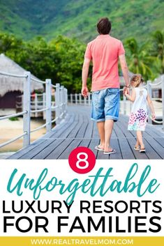 Read about 8 unforgettable kid-friendly resorts and hotels! | USA | Caribbean Beach | Hawaii | Mountain Resort | Amazing Pools | Bali | New England | India | #travel #familytravel #luxuryhotels #hotels