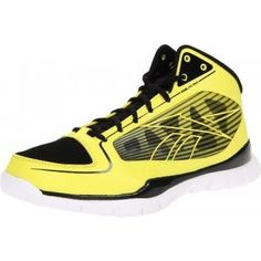 f6e178e2 Reebok Men's Sublite Pro Rise Basketball Shoe,Yellow/White/Black,11.5 M