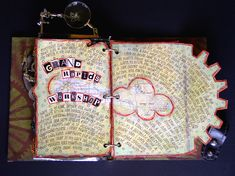 Octopus's Garden altered books and journals #journal