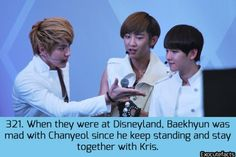 Exo Facts fuck those baekyeol feels
