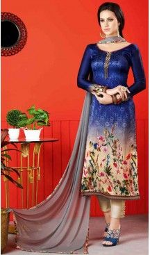 Beige Color Satin Digital Printed Salwar Kameez | FH526080240 #casual, #salwar, #kameez, #online, #trendy, #shopping, #latest, #collections, #summer,#shalwar, #hot, #season, #suits, #cheap, #indian, #womens, #dress, #design, #fashion, #boutique, #heenastyle, #clothing, #cotton, #printed, #materials, @heenastyle