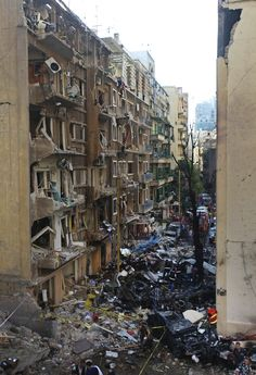 Horrifying Images From The Aftermath Of Beirut Bombing