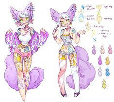 Design For Sale: Lollipop Fox (SOLD) by Costly on deviantART
