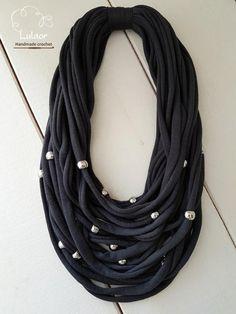 T shirt collar collar de tela línea de multi collar collar