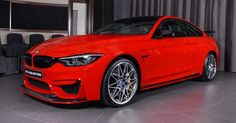 Ferrari Red BMW M4 Is Delicious To Look At #BMW #BMW_Individual
