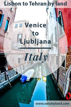 What to see in Venice including St Mark's Square, Basilica Clock Tower and Camponile Doge's Palace Rialto Bridge Bridge of Sighs Grand Canal Venetian Lagoon Church of San Giorgio Maggiore The canals of Venice Venetian Lagoon Venice Cemetery Burano and Murano before taking the bus to Ljubljana