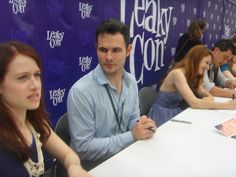 Tumblr itsnotliketherearehillshere:  aeternamente:  desactveit:  I think this is my favorite picture I took at LeakyCon. Lizzie is expressing her indignation about something with much fervor and verbosity.  Darcy thinks that's the sexiest thing in the world and is watching in awestruck silence.  While Jane and Bing might as well be radiating sunshine and rainbows and happy togetherness. :)  Let's not even try to pretend that this isn't canon. OK. you win the Internet, because Y E S