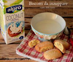 Biscotti da inzuppare nel latte ricetta il mio saper fare Bread Recipes, Cookie Recipes, Cookies, Breakfast, Desserts, Food, Recipes, Condensed Milk, Diet