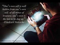 True Self Dug Up, Friedrich Nietzsche, Great Love, Awakening, Psychology, Creativity, Self, Wisdom, Jewels
