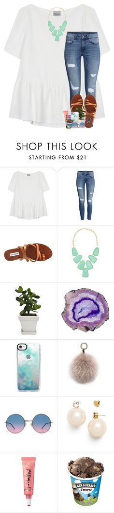 """and what if you never talk to me again, what then"" by theblonde07 ❤ liked on Polyvore featuring Rachel Comey, H&M, Steve Madden, Kendra Scott, Casetify, Oscar de la Renta, Marc Jacobs, Tory Burch and Too Faced Cosmetics"