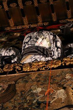 北観音山の囃子方。帯にちまきを指す姿がいなせだ。 祇園祭 京都 kyoto gion festival