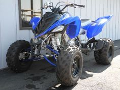 This 2008 Yamaha Raptor 700R RWD ATV is considered by many to be the best high-performance quad ever.  This very clean example is not only in great shape, but it is also in unmolested condition, meaning that it has never been modified or tampered with.  Aggressive styling reflects the Raptor 700R's intent, and its powerful fuel-injected engine and YFZ-inspired handling means it walks the walk too!