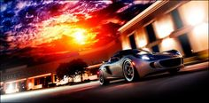 Fire'y drive.