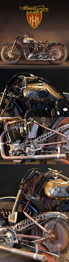 1930 MONET GOYON 500cc RACER- not sure this really a boardtrack racer, but it's my board and I'll pin whatever the hell I want.