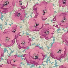 Poppy Pink Shower Curtain