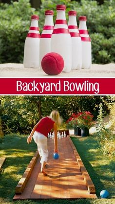 A roundup of the BEST do-it-yourself backyard games and activities to play with lots of pictures and resources! These DIY lawn games are fun and easy Lawn Games, Backyard Games, Diy Garden Games, Cool Diy, Fun Diy, Freetime Activities, Outdoor Projects, Diy Projects, Outside Games