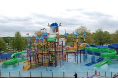 Sesame Place (a theme park based on Sesame Street) -- in Langhorne, PA