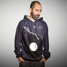 the PussPuss: Turntable Hoodie Men's