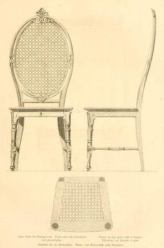 Dibujos de muebles. Furniture designs