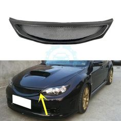 Carbon Fiber Car Parts Refit Grille For Subaru Impreza 10 STI 2008-2011 190672837216 | eBay
