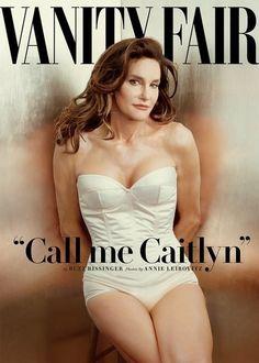 Caitlyn Jenner (formerly Bruce Jenner) makes her debut on Vanity Fair cover.
