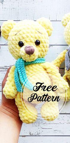 Free Amigurumi Crochet Bear Pattern and Images - Free Amigurumi Pattern, Amigurumi Blog!