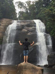Air terjun dait Kabupaten Landak Kalimantan Barat