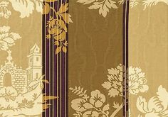 Braemore-Fabric-Camel-Gold-Purple-Brown-Stripe-Rain-Stain-Look-Drapery-Upholster