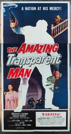 MovieArt Original Film Posters - AMAZING TRANSPARENT MAN, THE (1960) 10171, $60.00 (http://www.movieart.com/amazing-transparent-man-the-1960-10171/)