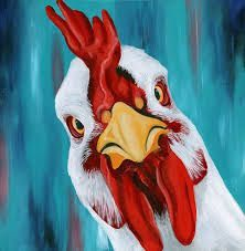 Image result for FUNNY ABSTRACT CHICKEN PAINTINGS