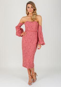 d27bd5aa4bbe83 Elle Zeitoune Zinnia Lace Off the Shoulder Dress