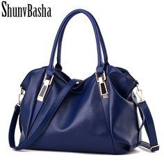 Vrouwen schoudertas fashion leisure Hobos lady hoge kwaliteit lederen tas pure kleur elegante handtas Crossbody Tassen